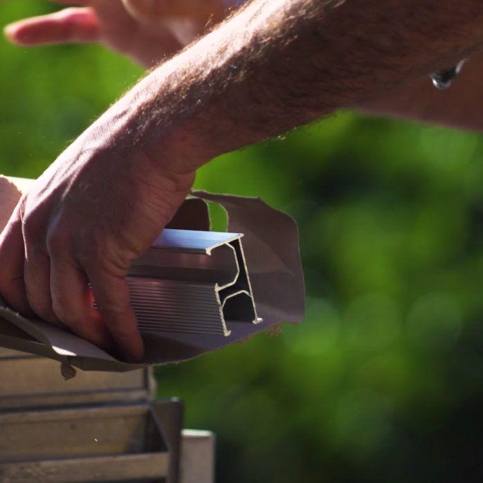 Installer Solar Rail