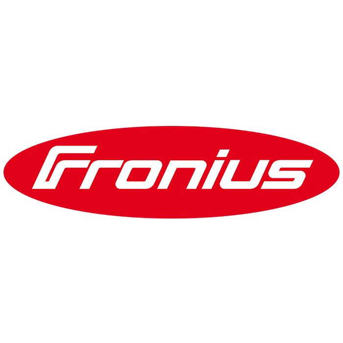 JPEG Fronius logo on white background