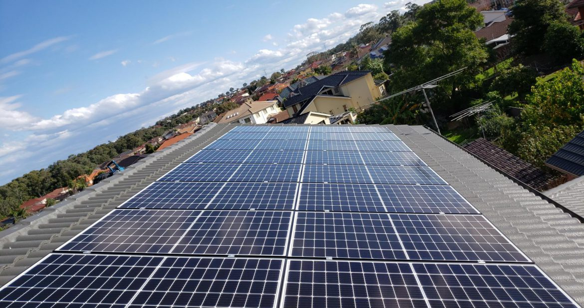 Solar Installation at Sydney